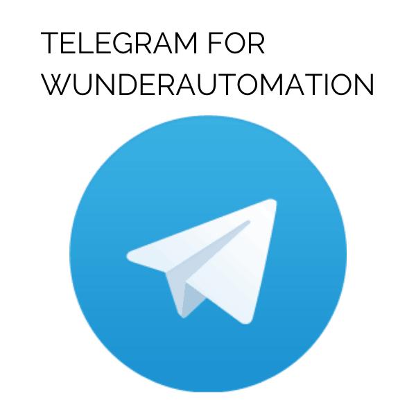 Telegram for WunderAutomation logo